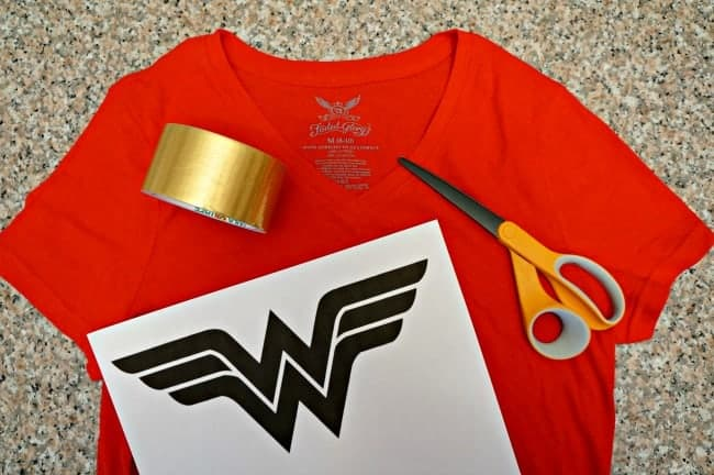 DIY-Wonder-Woman-Inspired-costume-supplies