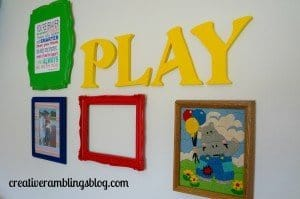 kids room or family room wall decor