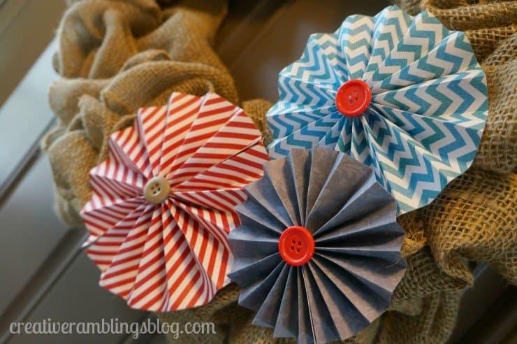 patriotic burlap wreath tutorial