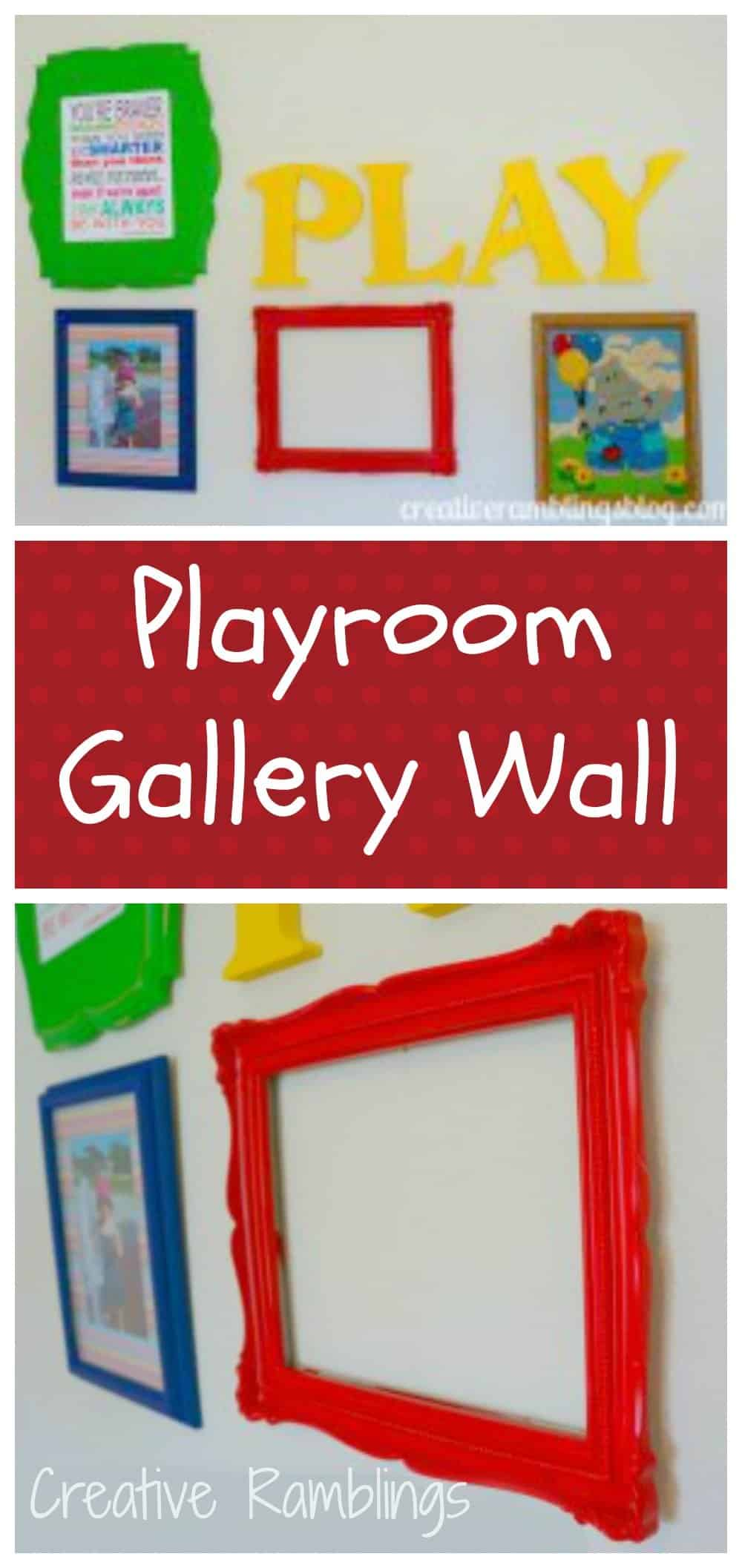 playroom wall art  sc 1 st  Creative Ramblings & Playroom Wall Art - Creative Ramblings