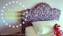 Big Girl Upholstered Headboard