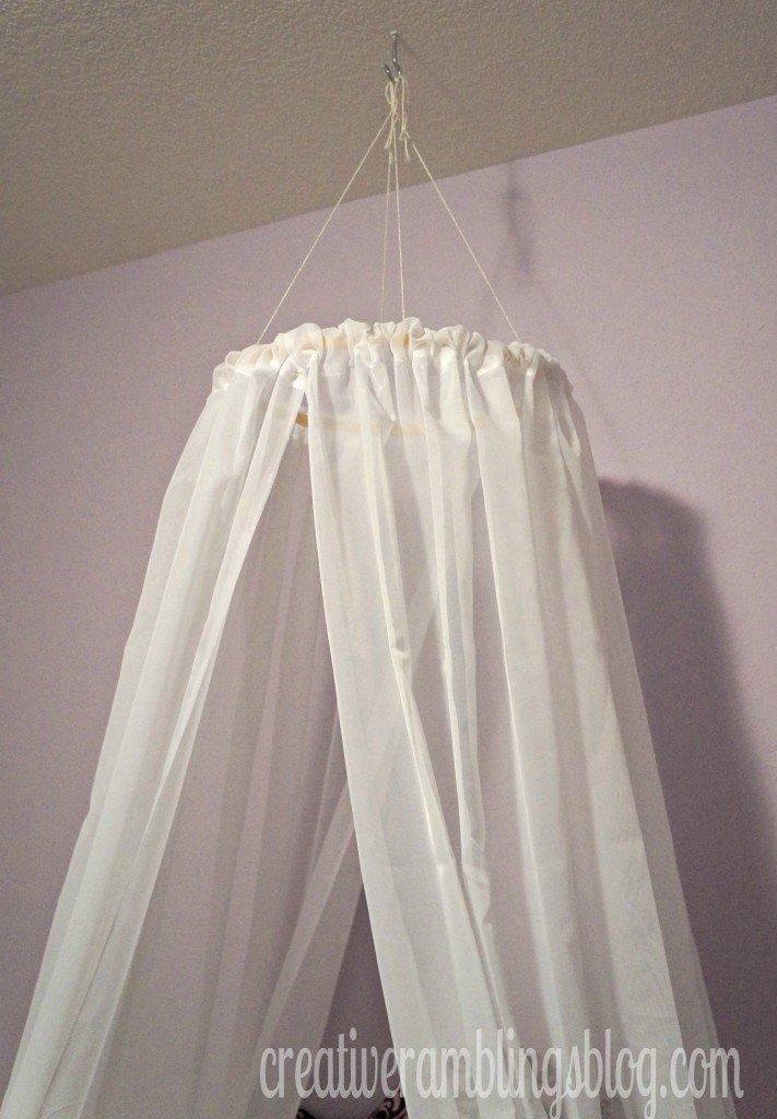 Easy Diy Princess Canopy Creative Ramblings