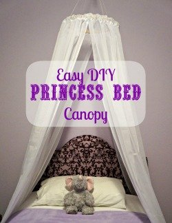 Easy princess bed canopy