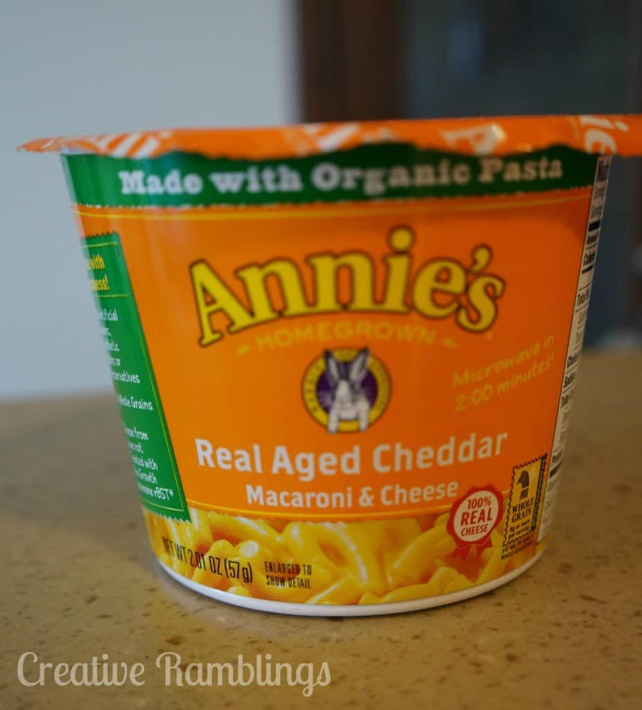 Annie's Mac and Cheese #mamavoxbox  #realcheese