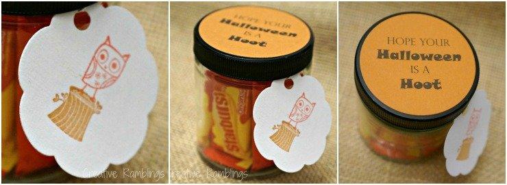 Quick Halloween Teacher Gift