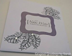 CD case for Nikki Winter Photography