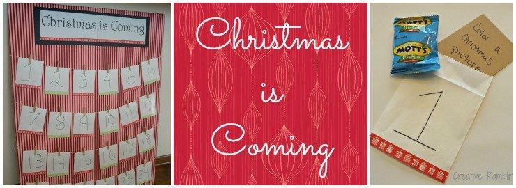 Advent or Christmas Countdown Calendar