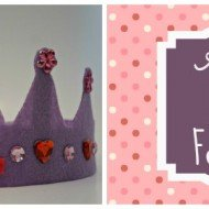 Almost No-Sew Felt Crown Stocking Stuffer
