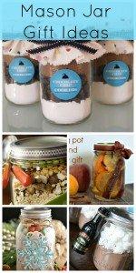 Mason jar gift ideas from Creative Ramblings