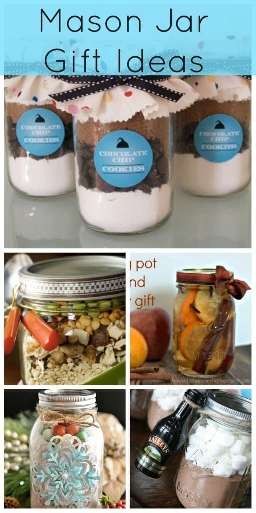 Mason jar gift ideas from Creative Ramblings