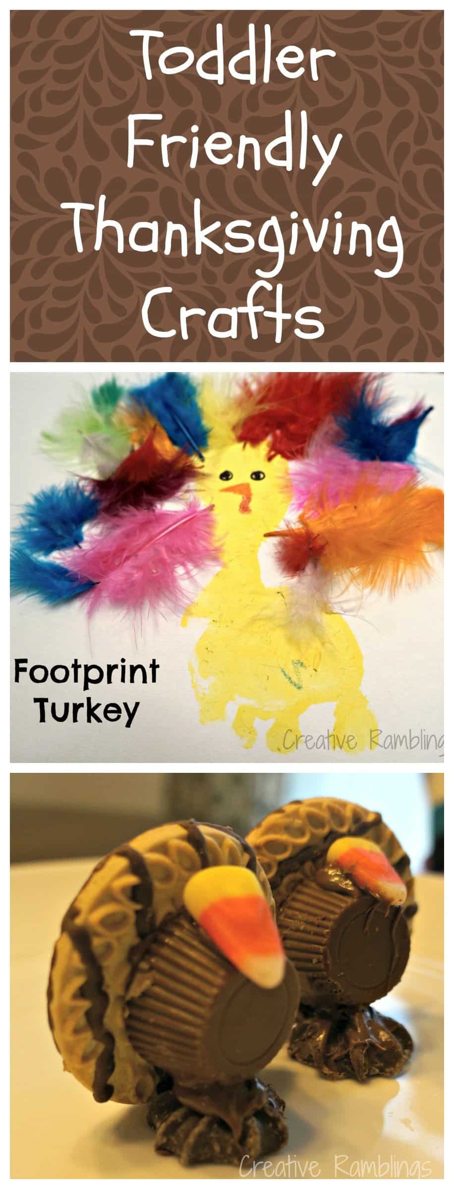 Toddler Friendly #Thanksgiving Crafts