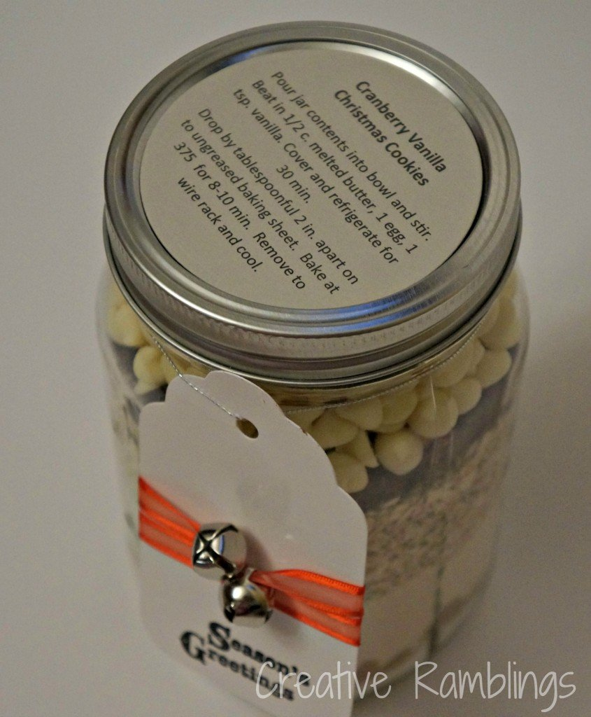 cookie jar label