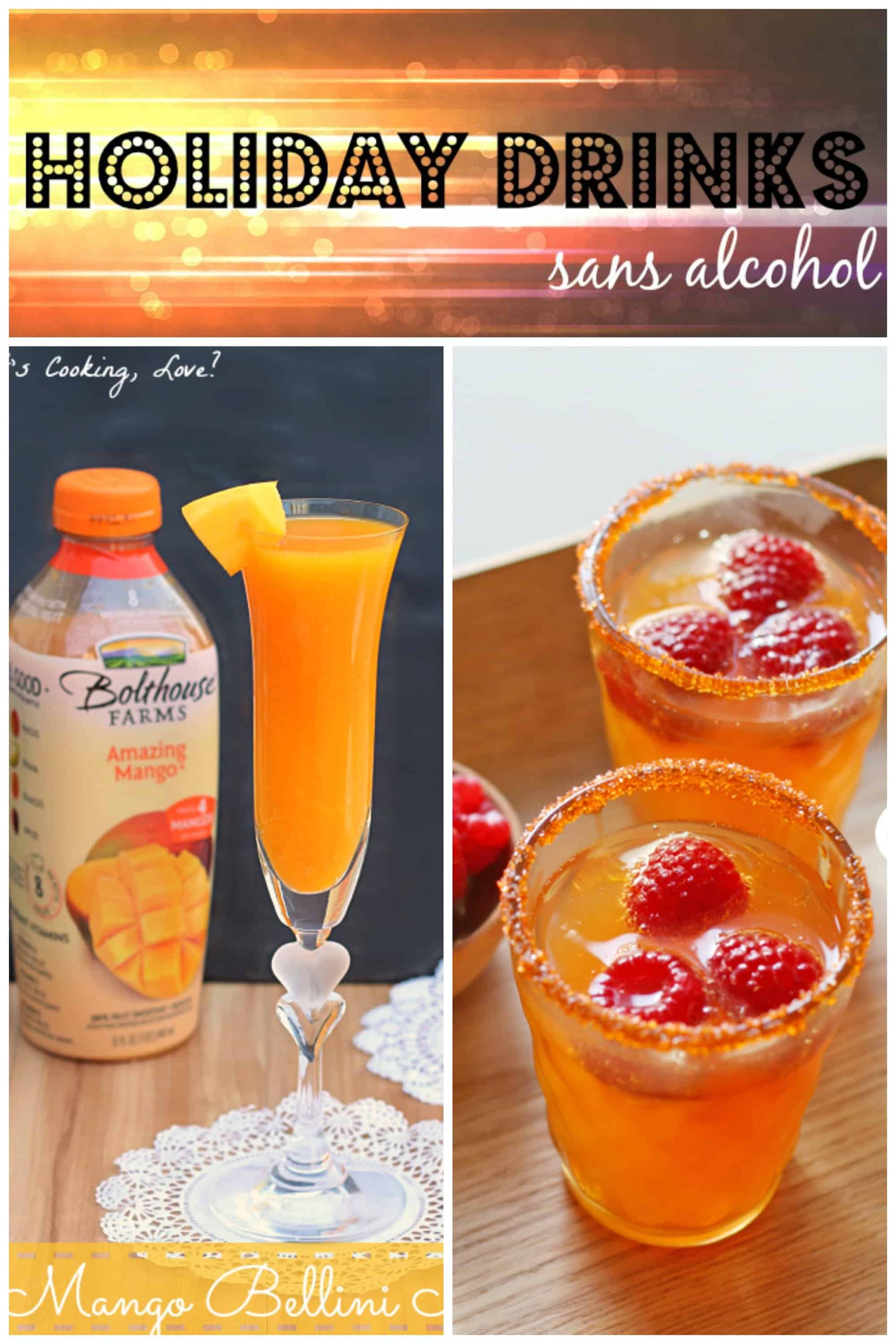 Holiday drinks sans alcohol creative ramblings for Drink recipes without alcohol