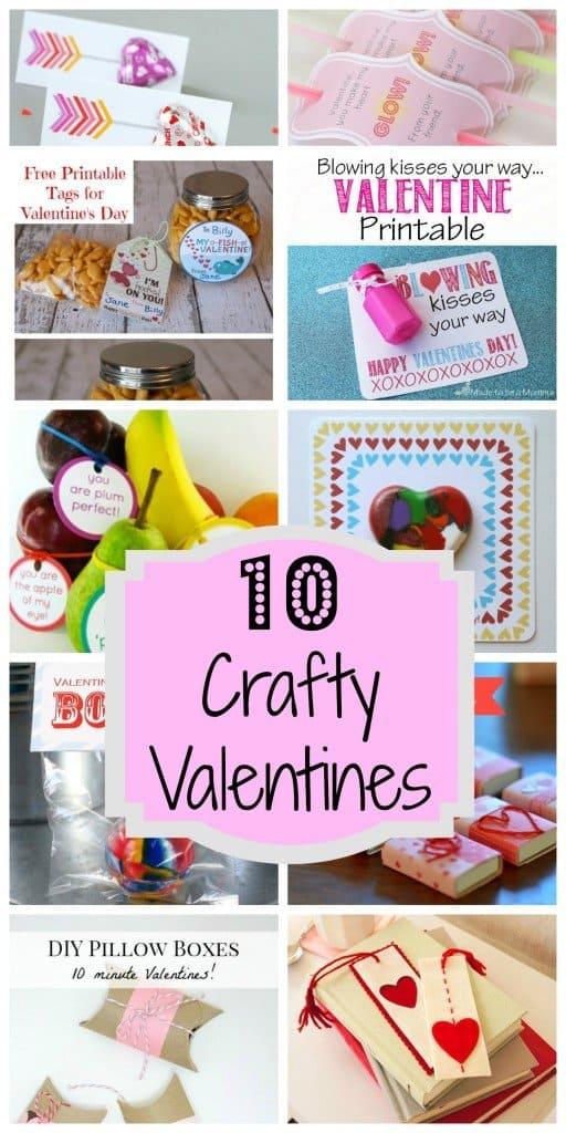 10 Crafty Valentines