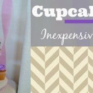 Cupcake Stand – Inexpensive Party Essential