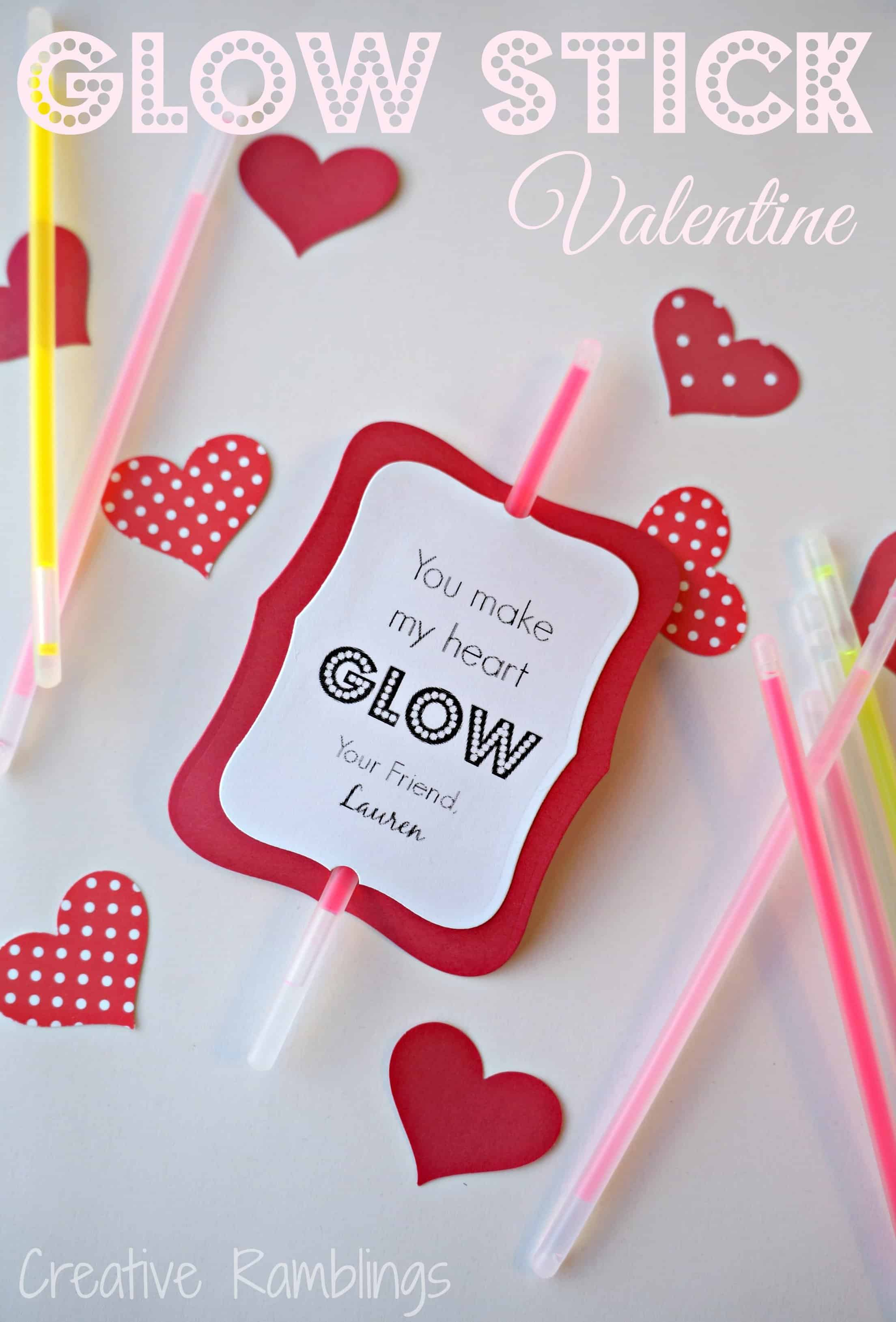You Make My Heart Glow Valentine Creative Ramblings