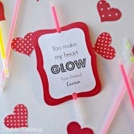 You Make My Heart Glow Valentine