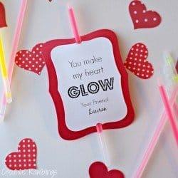 You make my heart glow Valentine