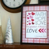 Valentine Printable: 1 Corinthians 13:13