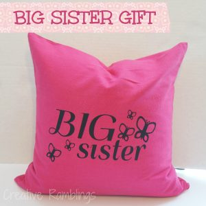 Big Sister Pillow