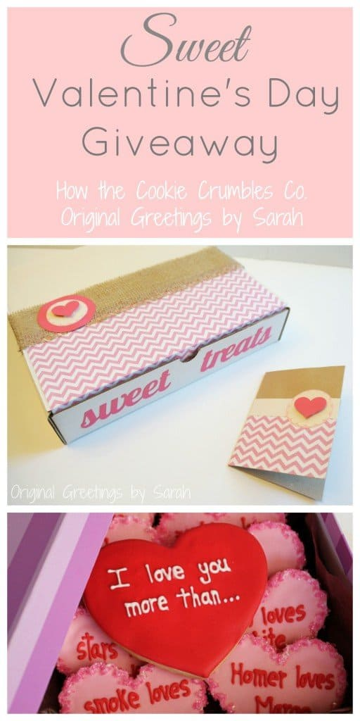 sweet valentine cookie giveaway