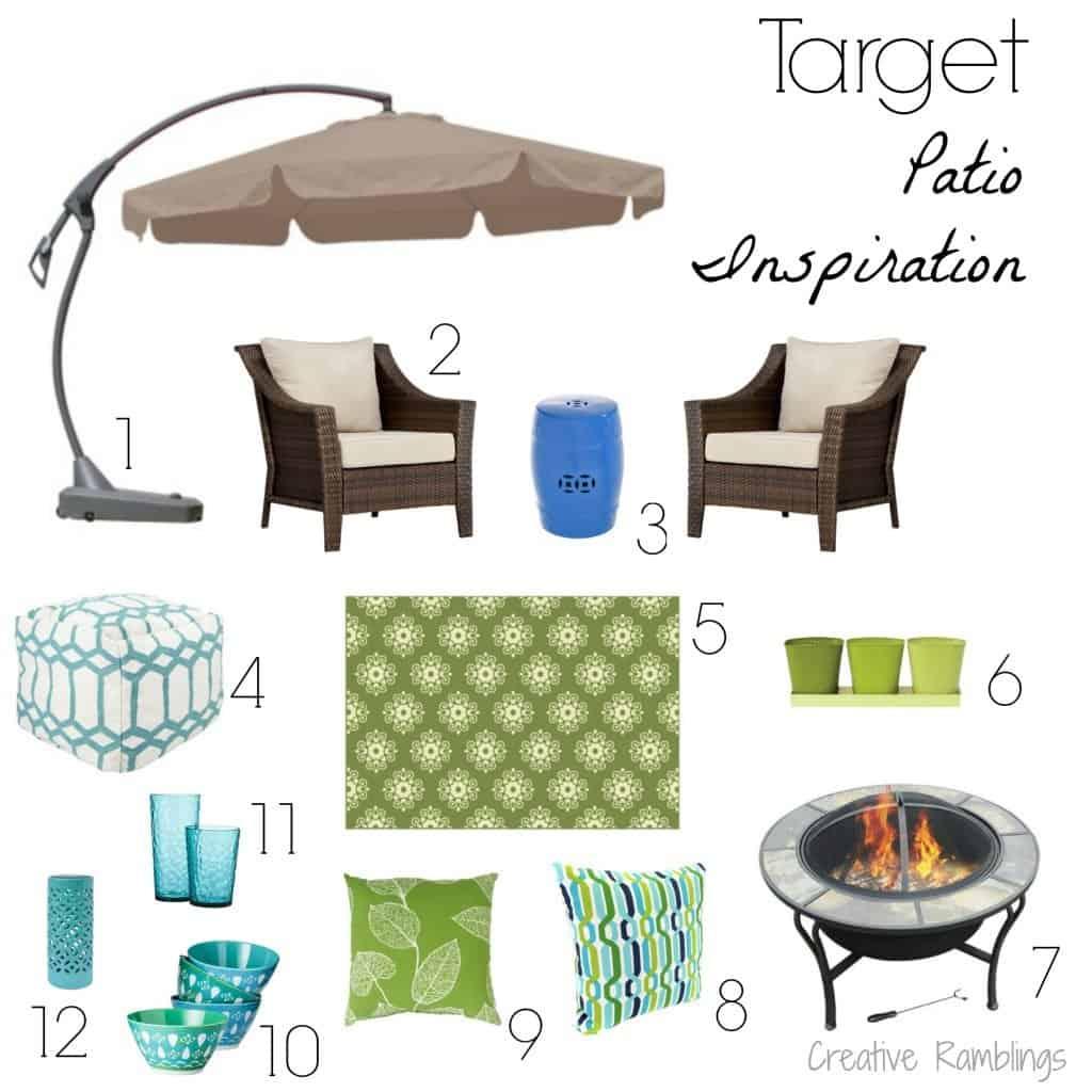 Target Patio Inspiration 2014