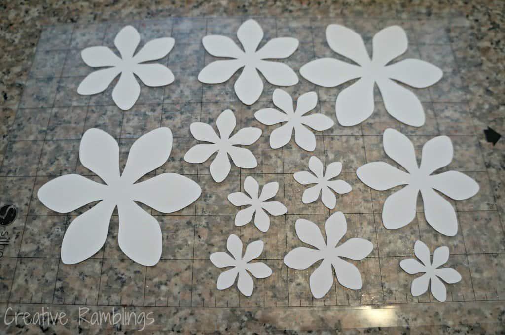 spring wreath cut flowers