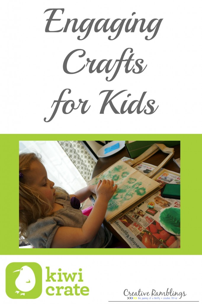 engaging crafts for kids #kiwicrate