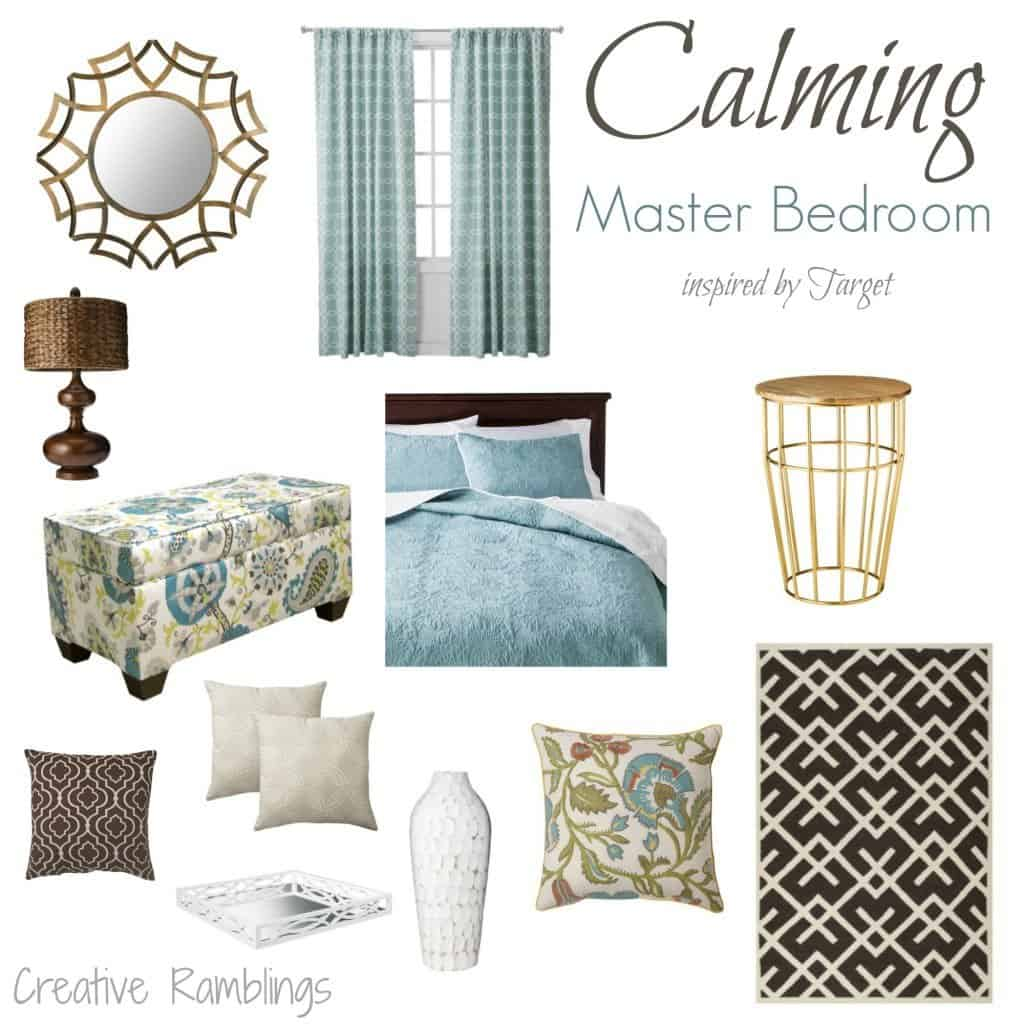 Calming Master Bedroom inspired by #target