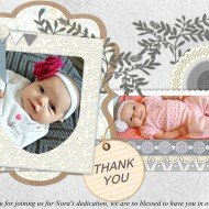 Thank you cards with a Picture Collage Maker