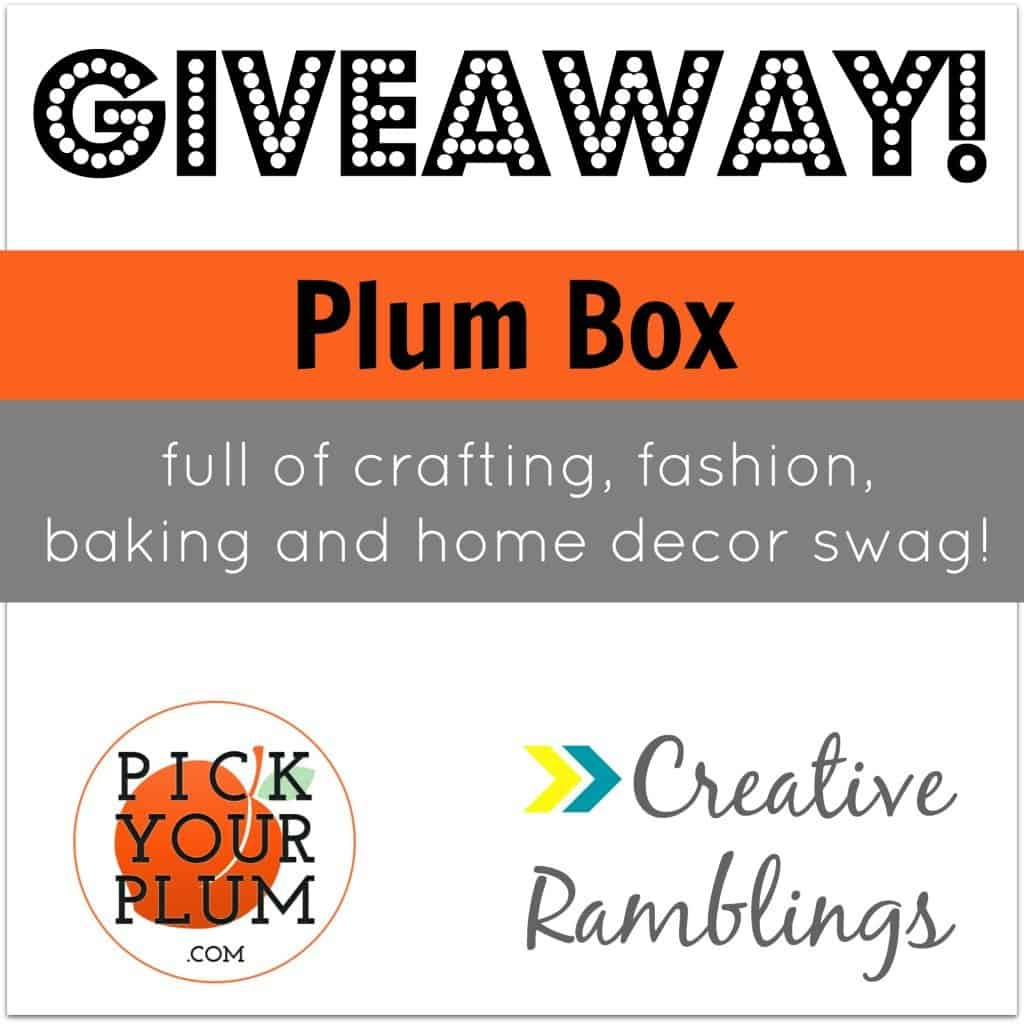 pick your plum giveaway square