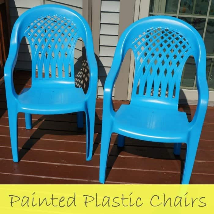 Easy update for your plastic chairs