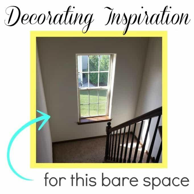 Stair Landing Decorating Inspiration