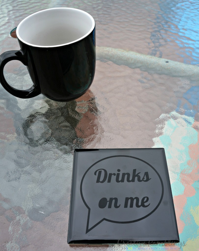 etched coaster