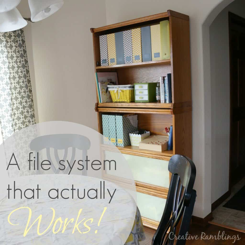 a file system that actually works: piles not files