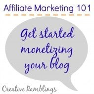 Affiliate Marketing 101- The Basics