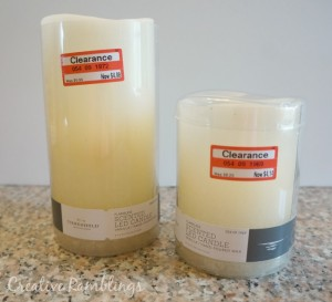 Target flameless candles