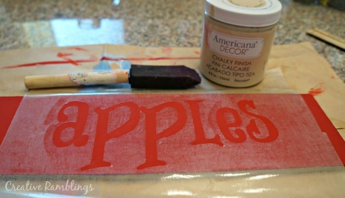 paint letters