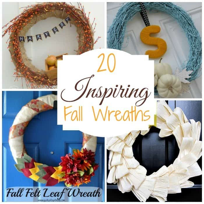 20 inspiring fall wreaths