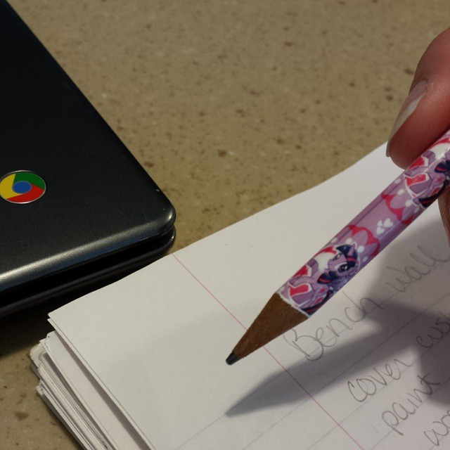 Just realized I've been using a Twilight Sparkle pencil all morning. Ugh.  #momproblems #mylittlepony #cantstandthatshow