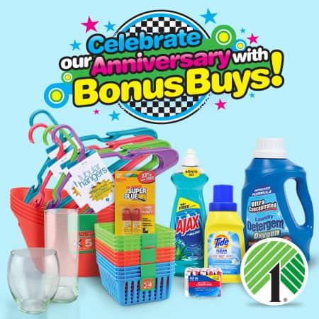 #DTAnniversary Bonus Buys #ad