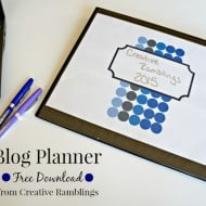 Get Organized with a Free 2015 Planner