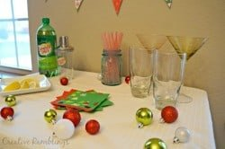 Shake up the Season with a holiday drink station