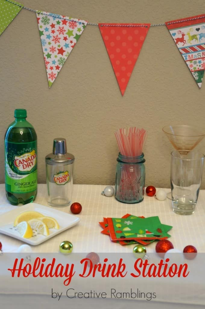 Shake up the season with a drink station