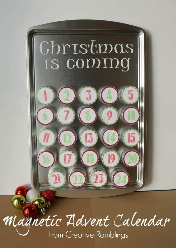 Thrifty Creative Living Magnetic Advent Calendar