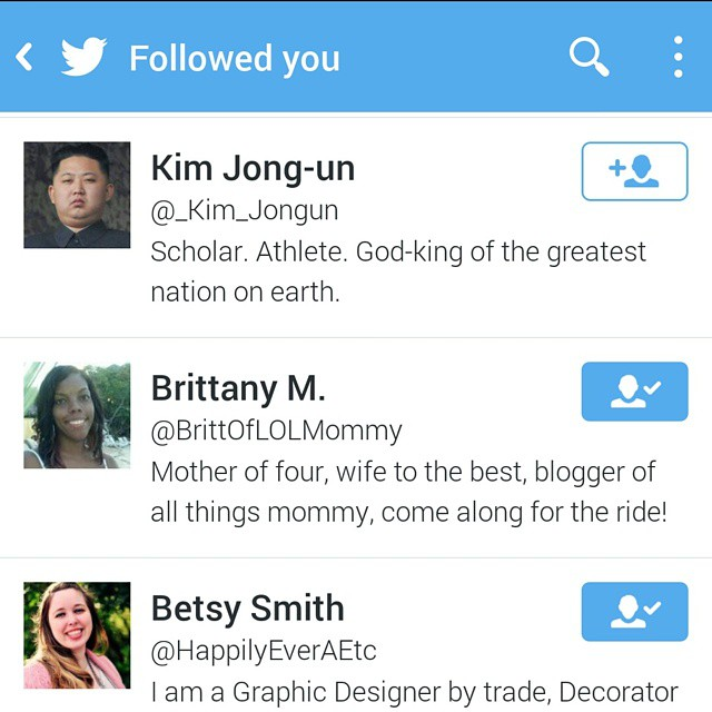 Got some new twitter followers today..... #odd #goodlaugh