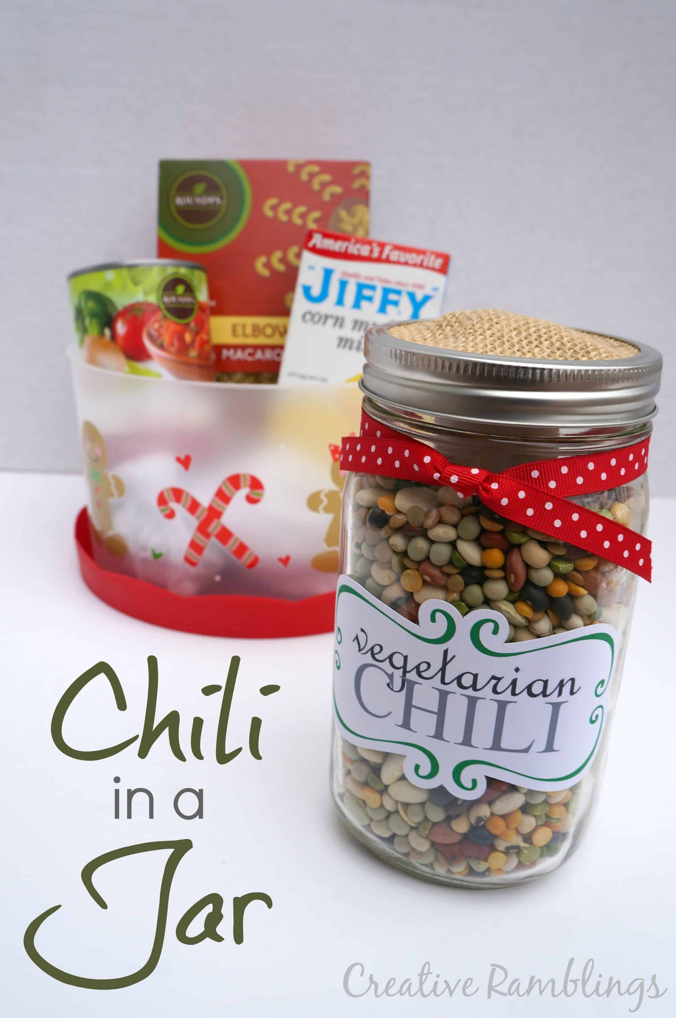 Chili in a jar gift from Pick n Save