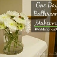 One Day Bathroom Makeover