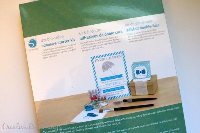 Silhouette Adhesive Starter Kit Tutorial