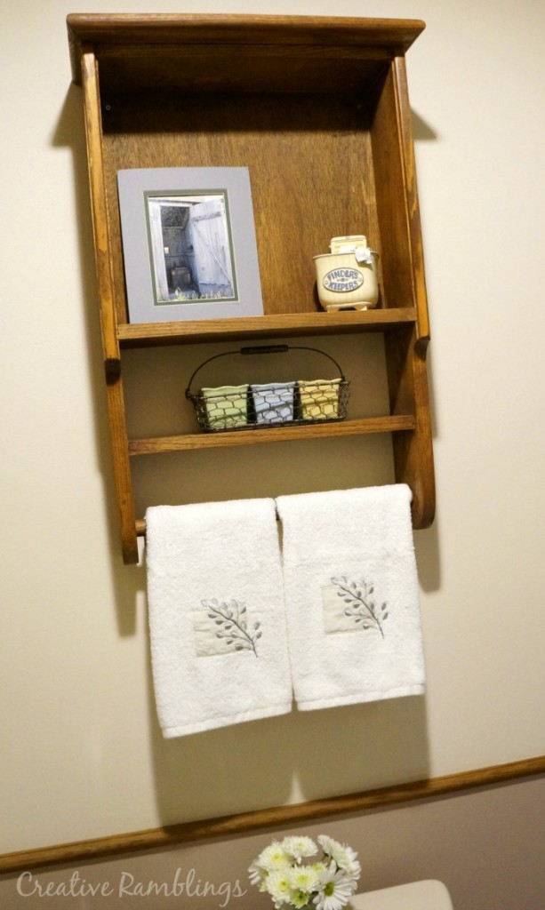 Simple Projects Great Results.  Bathroom makeover #MyMenardsDIY